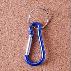 1p 조롱박형 미니 카라비너/캠핑 등산고리 열쇠고리