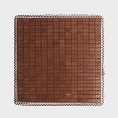 쿨링히트 대나무 방석(45cm) (브라운) / 자동차방석