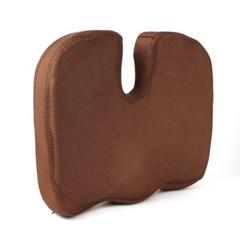 바른자세 메모리폼 골반 방석(브라운) /의자방석
