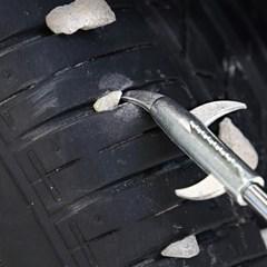 타이어 돌제거기 타이어청소