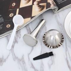네스프레소 버츄오 호환 리필 커피캡슐+탬퍼 재사용