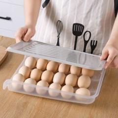 에그키퍼 자동정리 18구 계란케이스 달걀수납함
