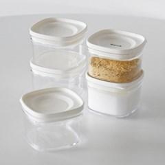 캐니 다용도 냉장고 투명 정리용기 조미료통 소_(1800346)