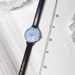 [클루X디즈니] 겨울왕국 엘사 시계 + 팔찌세트