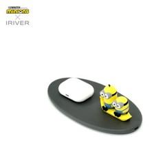 아이리버 미니언즈 무선 고속 충전패드 IMWC01 정품 공식라이센스
