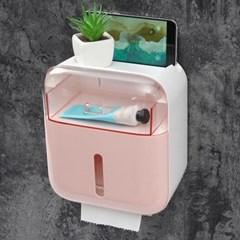 더바스 서랍형 휴지디스펜서 욕실 방수 선반 휴지걸이
