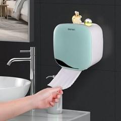 욕실수납 핸드타올 휴지디스펜서 / 방수 휴지걸이