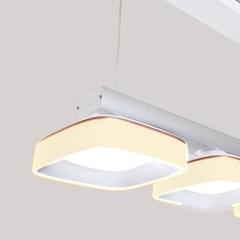 LED 펜던트 루키나 3등 40W 국산 주광색 전구색