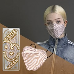 [낱개]고급 패션 커플 아이템 베스트셀러 체크 패턴 컬러 마스크