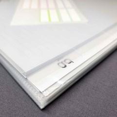 DIY Note (투명 플라스틱 인덱스 (A4, A5, B6))