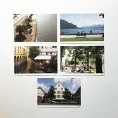 인 유럽 포토엽서 5종 세트 (In Europe Postcard)