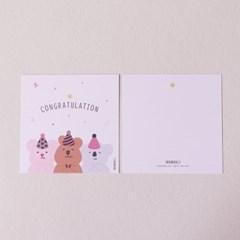 오까까 생일 축하 카드 엽서