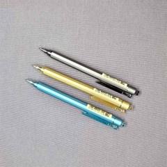 메탈무광 육각 0.5mm 젤펜 - 3가지 색상