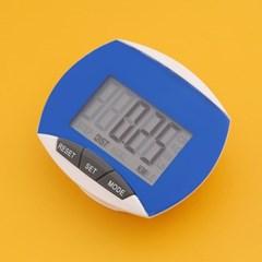스마트 디지털 만보기(블루) / 다이어트 만보계
