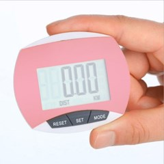 스마트 디지털 만보기(핑크) / 다이어트 만보계