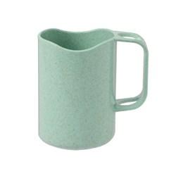 심플 칫솔걸이 양치컵(그린)/ 개인 칫솔컵