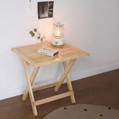 원목 접이식 미니 카페테이블
