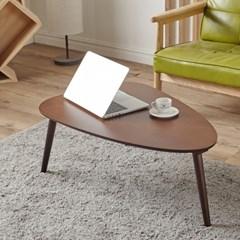 [에띠안] 엣지 삼각 라운드 거실 테이블 2컬러