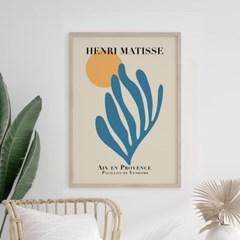 앙리마티스 그림 액자 포스터 블루문