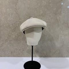 무지 기본 베이지 데일리 패션 헌팅캡 마도로스 모자