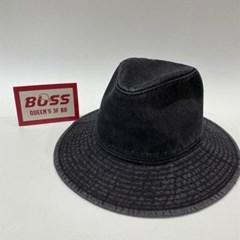 챙넓은 진청 데일리 패션 밀짚모자 라피아햇 모자