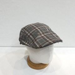 체크 꾸안꾸 데일리 패션 블랙 소라 베레모 모자