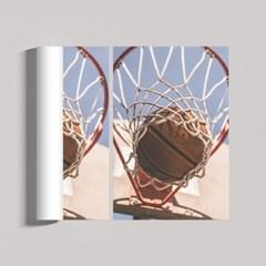 바스켓볼 다이어리 인테리어 포스터