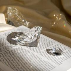 큐빅 다이아몬드 오브제 소품 4size