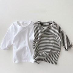 데) 만능 레이어드 아동 티셔츠