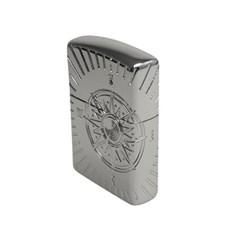 BEST 名品 [ZIPPO] 250-18 ARMOR COMPASS NI_(2084098)