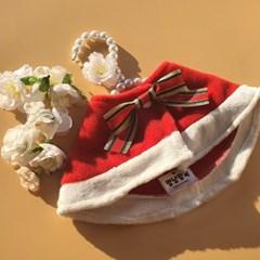 강아지 트리의요정 케이프 핸드메이드 산타옷