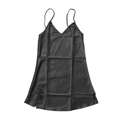 실키나잇 여성 슬립 잠옷세트 (블랙) (XL)