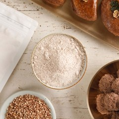 [국내산 유기농 쌀로 만든] 수수떡가루(습식) 500g