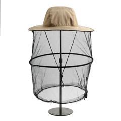 해충방지 모기장 방충모자(베이지)/ 낚시 벌초모자