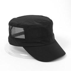 넘버즈 메쉬 군모(블랙)/ 밀리터리캡