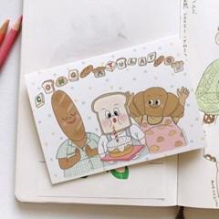 케이크 축하카드 3종