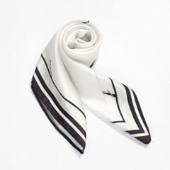 로맨틱 사각 스카프(블랙피플) 봄 가을 패션스카프