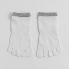 포인트 남성 발가락양말 / 무좀방지 통기성 발목양말
