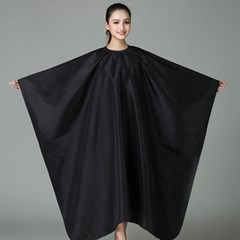 살롱나인 글로시 미용커트보(블랙) / 미용실 드라이보