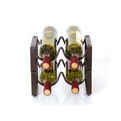 엔틱 물결 와인렉(2열 2단) / 와인거치대
