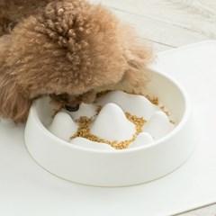 애견 급체방지 식기 강아지 노즈워크 사료 그릇