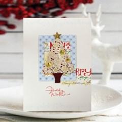 펄 크리스마스카드 FS1028-1346(4종)