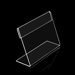 아크릴 쇼케이스(7.5x5.5cm)/ L자형 명함꽂이 pop꽂이
