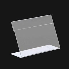 아크릴 쇼케이스(12x8cm)/L자형 아크릴꽂이 pop꽂이