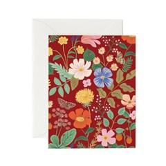Strawberry Fields Red 일상 카드