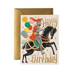 Knight Birthday Card 생일 카드