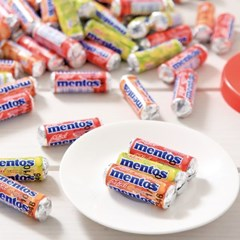 멘토스 미니 푸르티 100입 화이트데이 사탕 캔디 선물