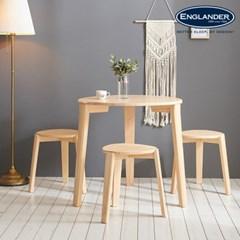 잉글랜더 어비스 원목 3인용 식탁세트(의자3)_(13036518)