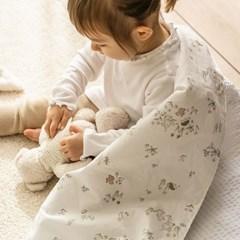 아기자기 포레스트 리플2겹 블랭킷