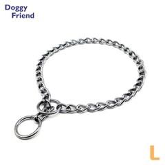 반려견 애견 강아지 목줄 초크 체인 L 산책 체인줄